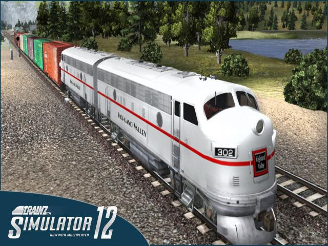 Trainz Simulator 2012 - title cover