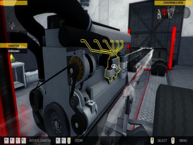 Truck Mechanic Simulator 2015 - title cover