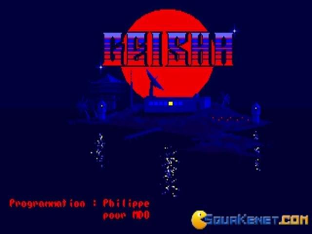 Geisha - game cover