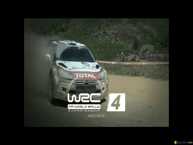 WRC 4 - title cover