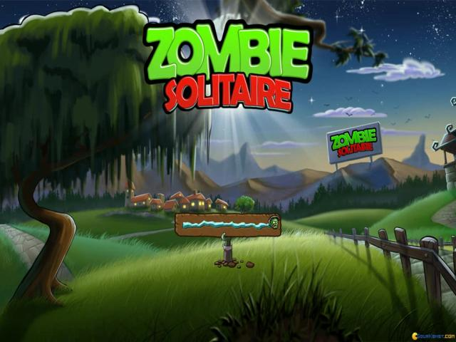 Zombie Solitaire - title cover