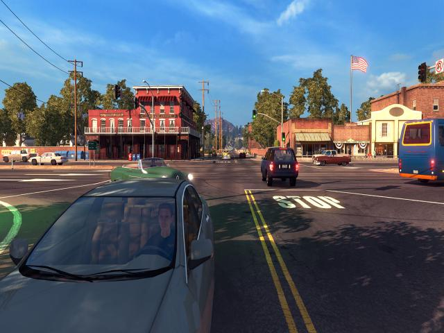 American Truck Simulator - title cover