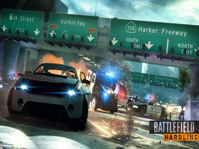 Battlefield Hardline - title cover
