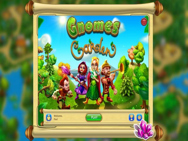 Gnomes Garden - title cover