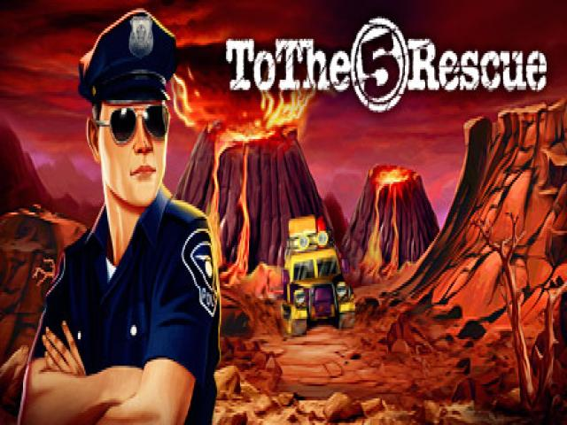 Rescue Team 5 - game cover