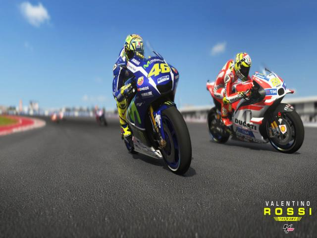 Valentino Rossi The Game - title cover