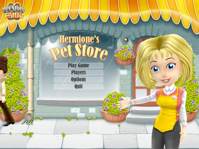 Pet Store Panic - title cover