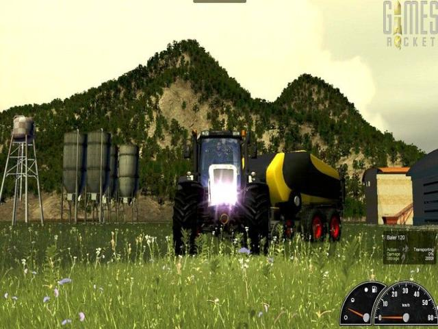 Agricultural Simulator 2012 - title cover