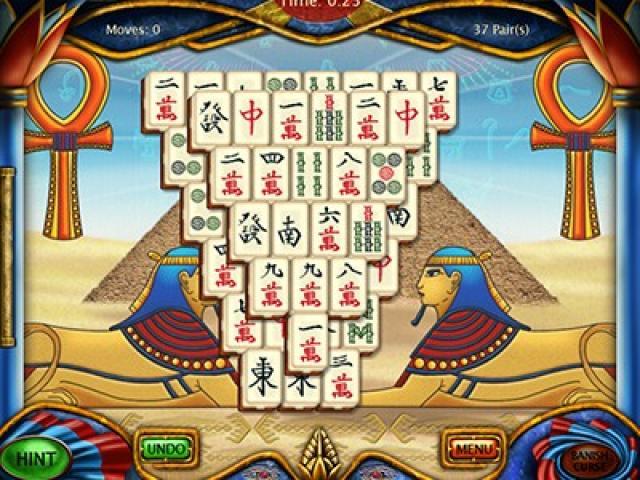 Art Mahjongg Egypt - title cover