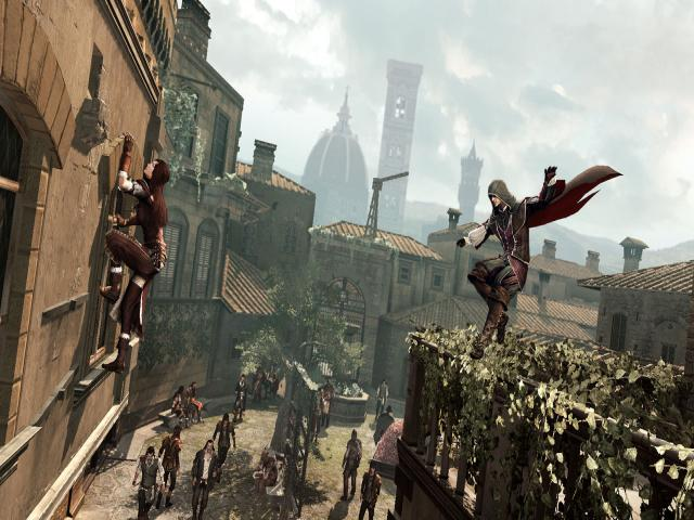 Assassin's Creed Brotherhood - title cover