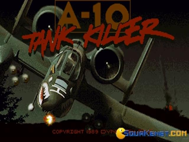 A-10 Tank Killer - game cover