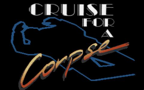 Cruise for a Corpse - title cover