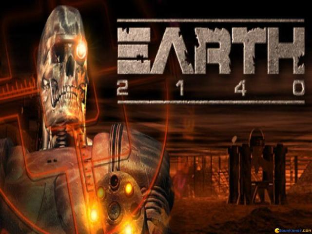 Earth 2140 - title cover