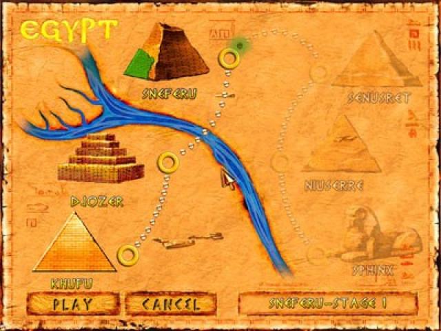 Brickshooter Egypt - game cover