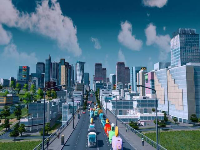 Cities: Skylines - Deluxe Edition - game cover
