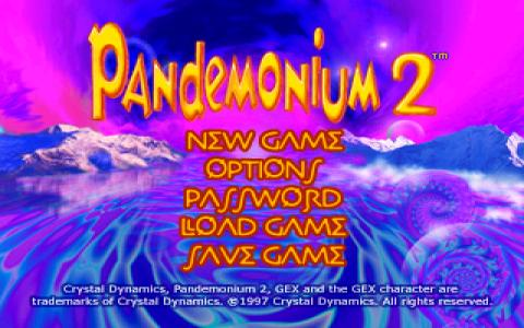 Pandemonium 2 - title cover