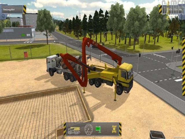 Construction Simulator 2012 - title cover