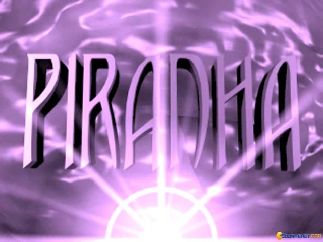 Piranha - title cover