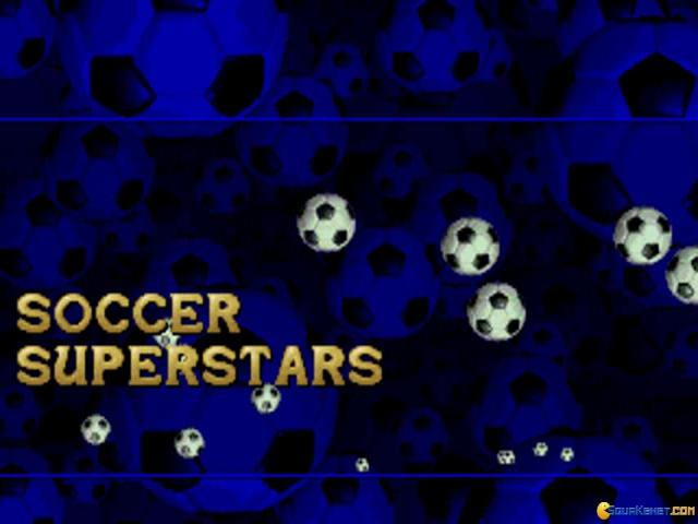 Soccer Superstar - title cover