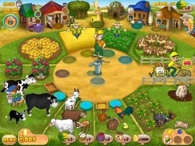 Farm Mania - game cover