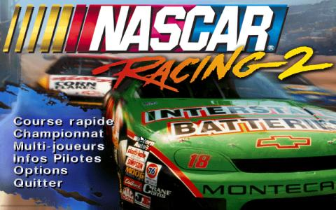 Nascar Racing 2 - game cover