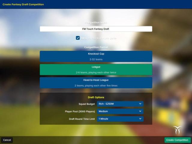 Football Manager Touch 2016 - title cover