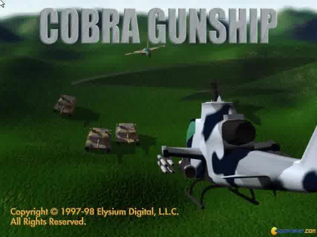 Cobra Gunship - title cover