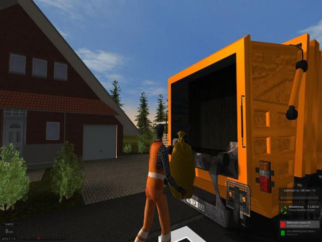 Garbage Truck Simulator 2011 - title cover