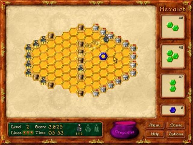 Hexalot - game cover