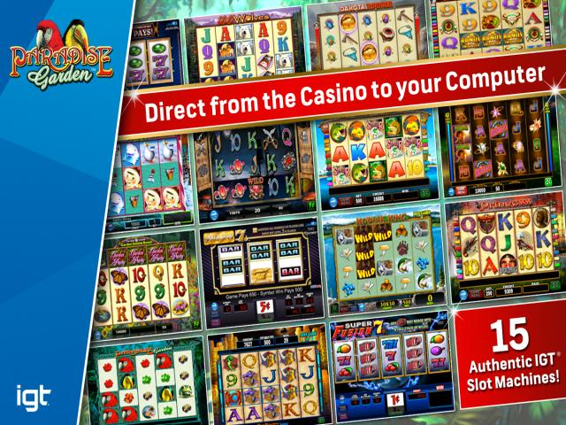 IGT Slots Paradise Garden - title cover