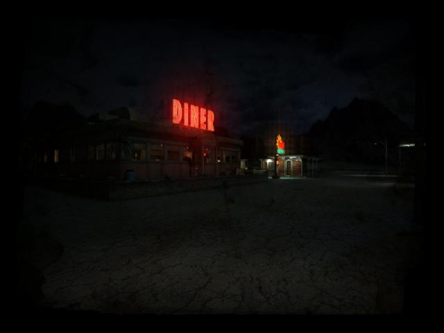 Joe's Diner - title cover