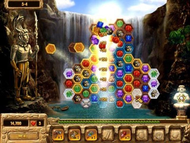 Lost Treasures of El Dorado - game cover
