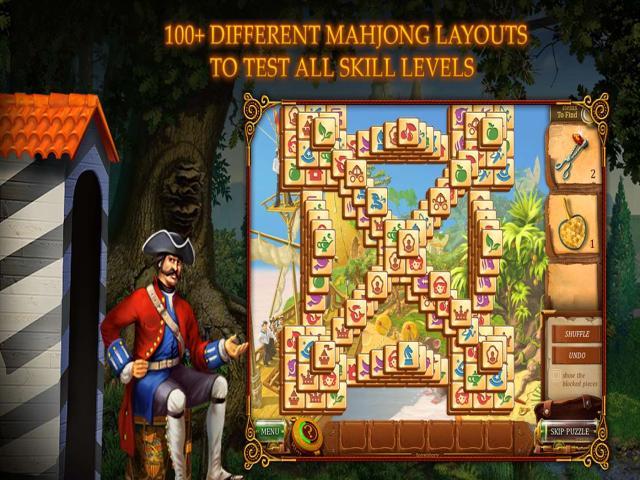Mahjong Secrets - title cover