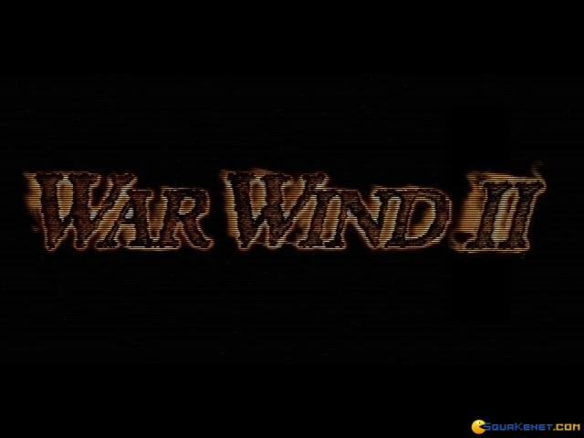 War Wind II - title cover