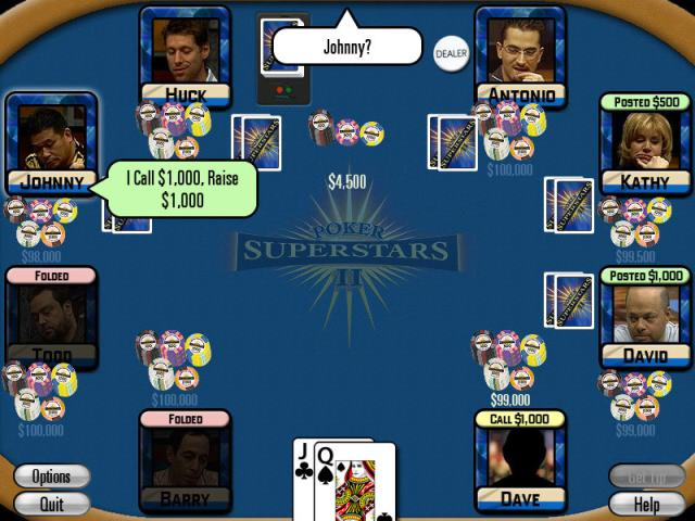 Poker Superstars II - title cover