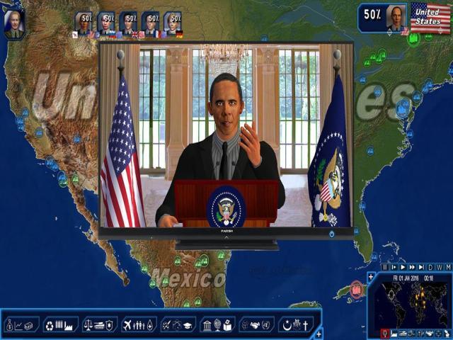 Power & Revolution: Geo-Political Simulator 4 - title cover