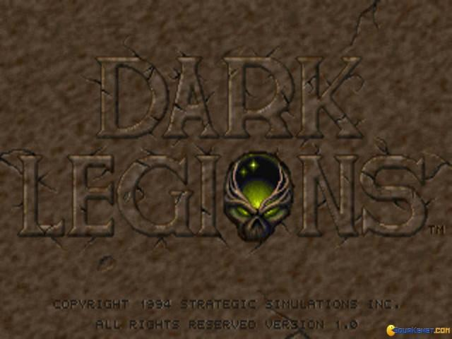 Dark Legions - title cover