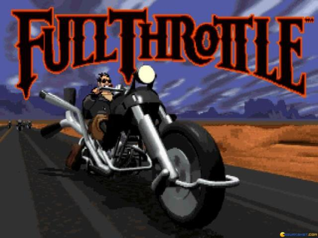 Full Throttle - game cover