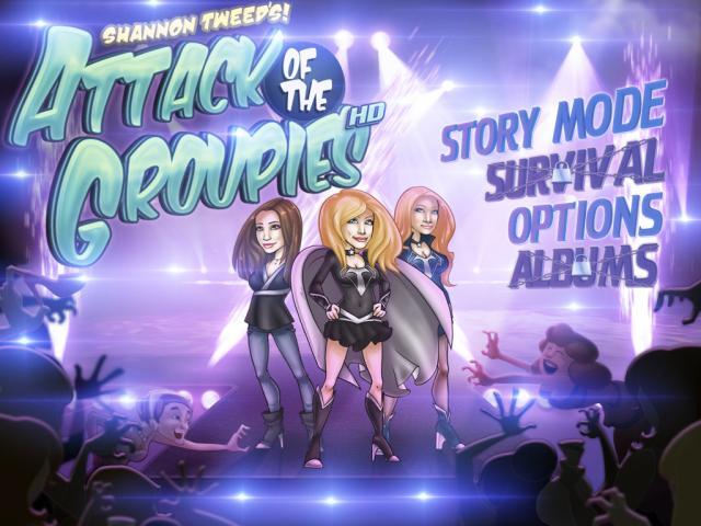 Shannon Tweed's Attack Of The Groupies - title cover