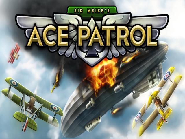 Sid Meier's Ace Patrol - title cover