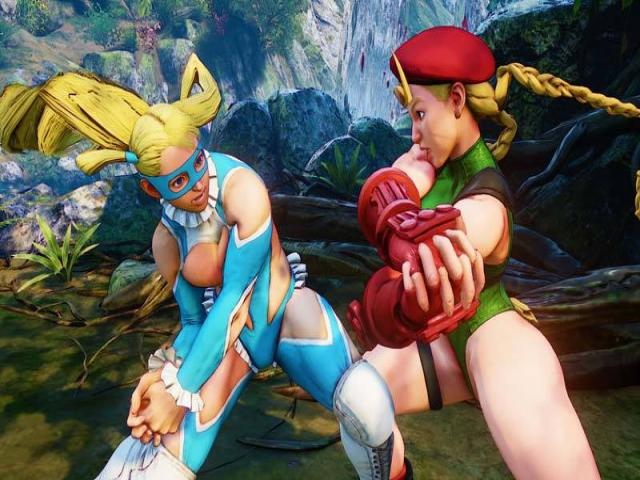Street Fighter V - title cover