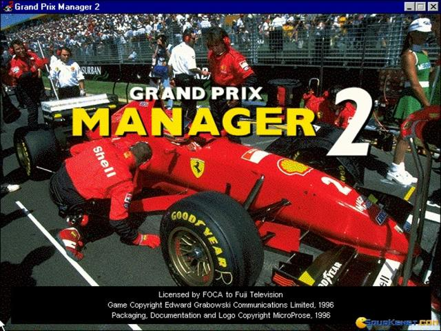 Grand Prix Manager 2 - title cover