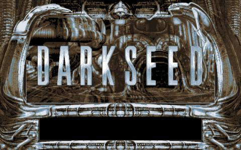 Darkseed - title cover