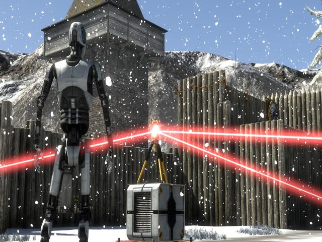 The Talos Principle - title cover