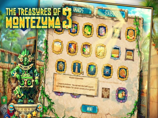 The Treasures of Montezuma 3 - title cover