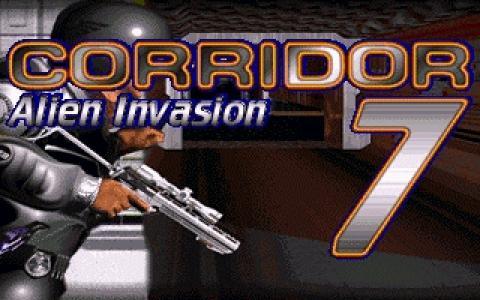 Corridor 7: Alien Invasion - game cover