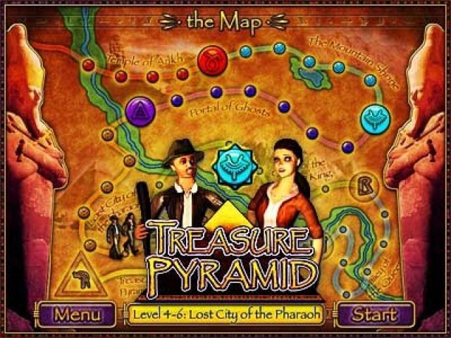 Treasure Pyramid - title cover