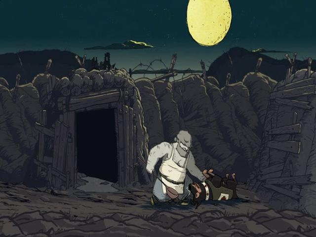 Valiant Hearts: The Great War - title cover