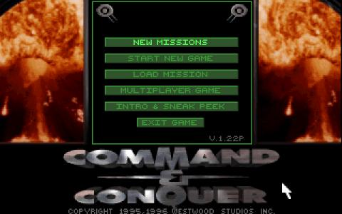 Command & Conquer - game cover