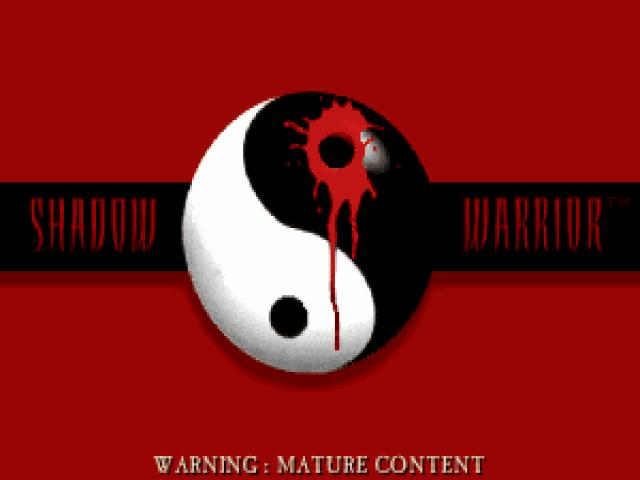 Shadow Warrior - title cover